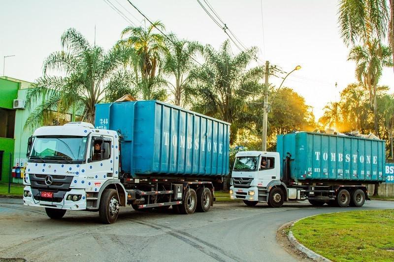 Serviços de coleta  e transporte de resíduos