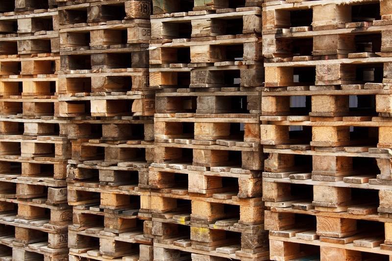 Venda pallet usado madeira