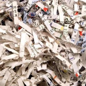 Empresa especializada em destruição de documentos